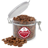 Almond Bliss Round Canister-University Mark Vertical