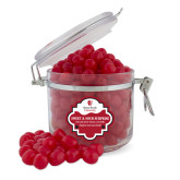 Sweet & Sour Cherry Surprise Round Canister-University Mark Vertical