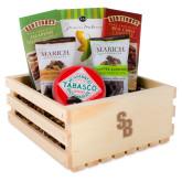 Wooden Gift Crate-Interlocking SB  Engraved
