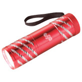 Astro Red Flashlight-Interlocking SB  Engraved