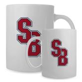Full Color White Mug 15oz-Interlocking SB