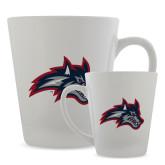 Full Color Latte Mug 12oz-Wolfie Head