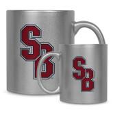 Full Color Silver Metallic Mug 11oz-Interlocking SB