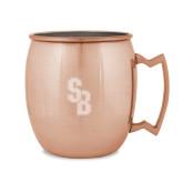 Copper Mug 16oz-Interlocking SB  Engraved