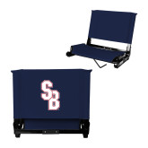 Stadium Chair Navy-Interlocking SB