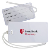 Luggage Tag-University Mark Stacked