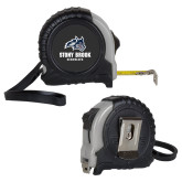 Journeyman Locking 10 Ft. Silver Tape Measure-Wolfie Head and Stony Brook Seawolves