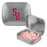 Silver Rectangular Peppermint Tin-Interlocking SB