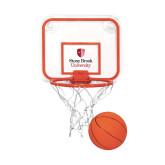 Mini Basketball & Hoop Set-University Mark Vertical