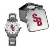 Mens Stainless Steel Fashion Watch-Interlocking SB