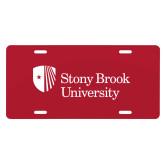 License Plate-University Mark Stacked
