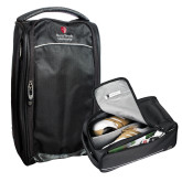 Cutter & Buck Tour Deluxe Shoe Bag-University Mark Vertical