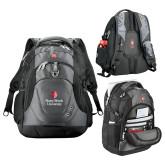 Wenger Swiss Army Tech Charcoal Compu Backpack-University Mark Vertical