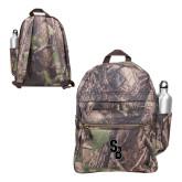 Heritage Supply Camo Computer Backpack-Interlocking SB