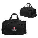 Challenger Team Black Sport Bag-University Mark Vertical