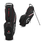 Callaway Hyper Lite 5 Black Stand Bag-University Mark Vertical