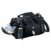 High Sierra Black Switch Blade Duffel-Interlocking SB
