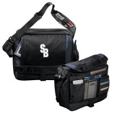 Excel Black/Blue Saddle Brief-Interlocking SB