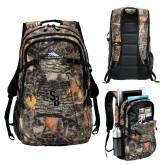 High Sierra Fallout Kings Camo Compu Backpack-Interlocking SB