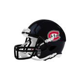 Riddell Replica Black Mini Helmet-Primary Mark