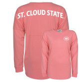 Pink Game Day Jersey Tee-Primary Mark
