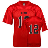 Replica Red Adult Football Jersey-Primary Mark