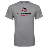 Grey T Shirt-Athletic Primary Mark