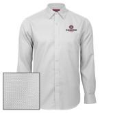 Red House White Diamond Dobby Long Sleeve Shirt-Athletic Primary Mark