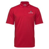 Red Mini Stripe Polo-Athletic Primary Mark