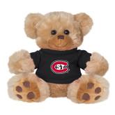 Plush Big Paw 8 1/2 inch Brown Bear w/Black Shirt-Primary Mark