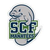 Medium Decal-SCF Manatees, 8 inches tall