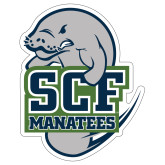 Extra Large Decal-SCF Manatees, 18 inches tall