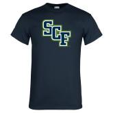 Navy T Shirt-SCF