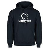Navy Fleece Hoodie-Tennis