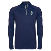 Under Armour Navy Tech 1/4 Zip Performance Shirt-SCF Manatees