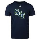 Adidas Navy Logo T Shirt-SCF