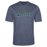 Performance Navy Heather Contender Tee-Manatees