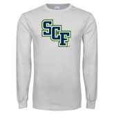 White Long Sleeve T Shirt-SCF