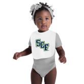 White Baby Bib-SCF
