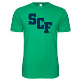 Next Level SoftStyle Kelly Green T Shirt-SCF