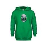 Youth Kelly Green Fleece Hoodie-SCF Manatees