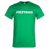Kelly Green T Shirt-SCF Proud
