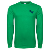 Kelly Green Long Sleeve T Shirt-SCF