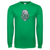 Kelly Green Long Sleeve T Shirt-SCF State College Florida