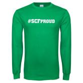 Kelly Green Long Sleeve T Shirt-SCF Proud