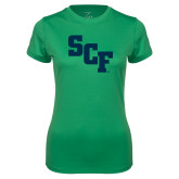 Ladies Syntrel Performance Kelly Green Tee-SCF