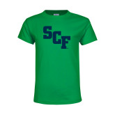 Youth Kelly Green T Shirt-SCF