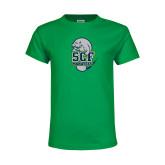 Youth Kelly Green T Shirt-SCF Manatees