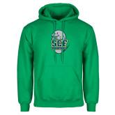 Kelly Green Fleece Hoodie-SCF Manatees