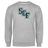 Grey Fleece Crew-SCF